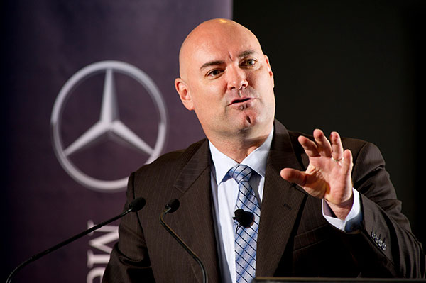 Ian Stephens voted Top 20 Best Motivational Speaker | Mercedes Benz - Inspirational Keynote
