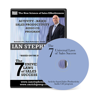 Professional Development Audio - The 7 Universal Laws of Sales Success | Author Ian Stephens