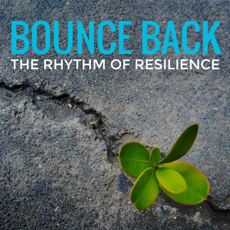 Bounce Back - The Rhythm of Resilience | Ian Stephens - Motivational Speaker | Tile