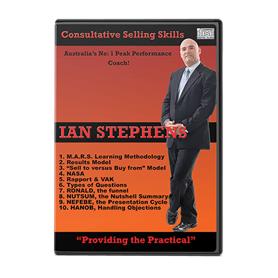 Professional Development Audio - Consultative Selling Skills | Author Ian Stephens