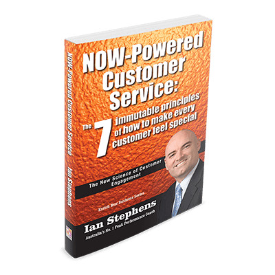 Professional Development Book - Now Powered Customer Service | Author Ian Stephens