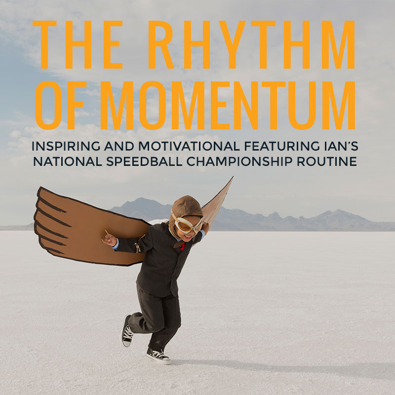 The Rhythm of Momentum | Ian Stephens - Motivational Speaker | Tile