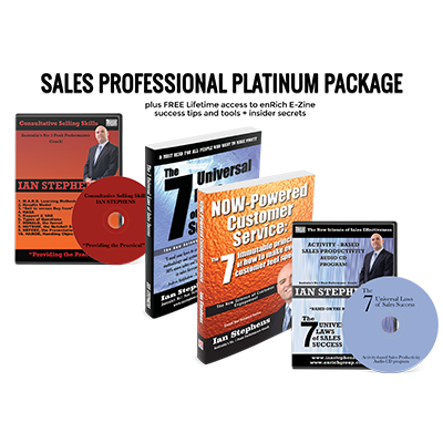 Professional Development Resources - Sales Professional Platinum Package | Author Ian Stephens
